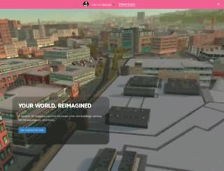 eegeo.com screenshot