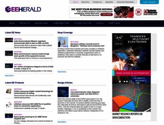 eeherald.com screenshot
