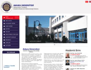 eem.ankara.edu.tr screenshot