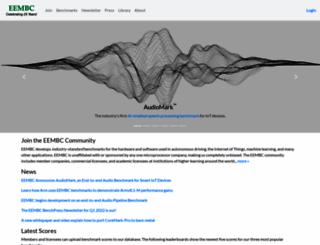 eembc.org screenshot