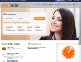 eenbaan.nl screenshot
