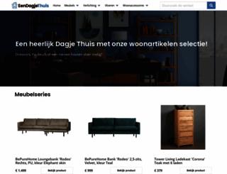 eendagjethuis.nl screenshot