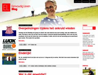 eenvoudigleven.blogspot.com screenshot