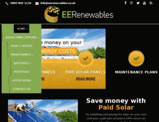 eerenewables.com screenshot