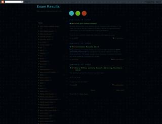eeresults.blogspot.com screenshot