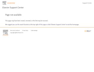 ees.elsevier.com screenshot