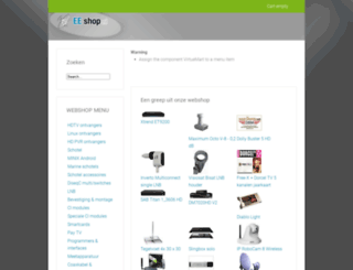 eeshop.nl screenshot