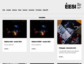 eesi.eu screenshot