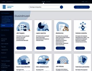 eesti.ee screenshot