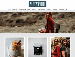 eetpaleo.nl screenshot