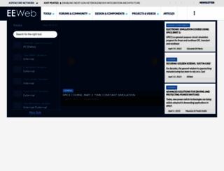 eeweb.com screenshot