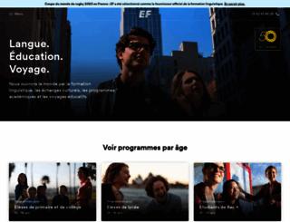 ef.com.fr screenshot