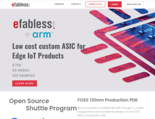 efabless.com screenshot
