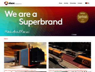 efacec.com screenshot