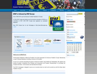 efaf.de screenshot