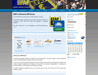efaf.info screenshot