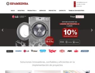 efameinsa.com screenshot