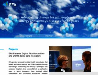 efanet.org screenshot