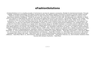 efashionsolutions.com screenshot