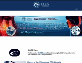 efcs.eu screenshot