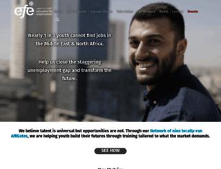 efe.org screenshot