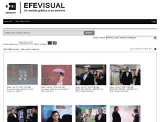 efeamerica.newscom.com screenshot