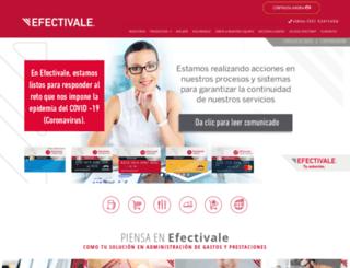 efectivale.com screenshot