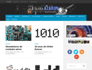 efeitoazaron.com screenshot