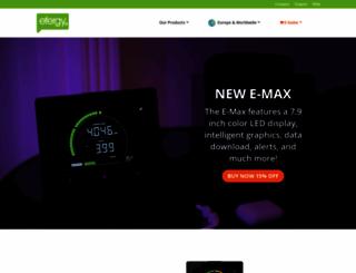 efergy.com screenshot