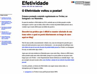 efetividade.net screenshot