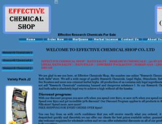 effectivechemicalshop.com screenshot