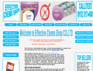 effectivechemsuppliers.com screenshot