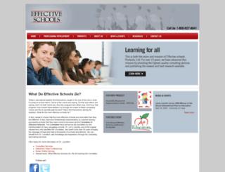 effectiveschools.com screenshot