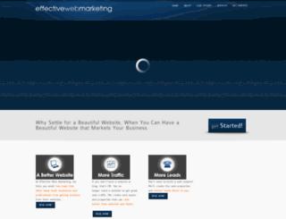 effectivewebmarketing.net screenshot