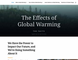 effectofglobalwarming.com screenshot