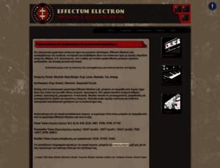 effectum-electron.com screenshot