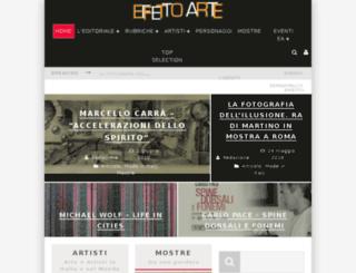 effettoarte.com screenshot