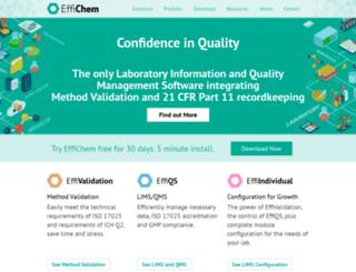 effichem.com screenshot
