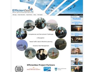 efficiensea.org screenshot