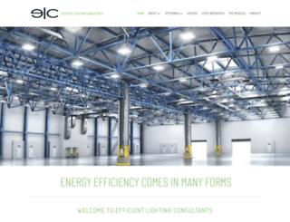 efficientlightingconsultants.com screenshot
