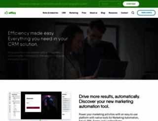 efficy.com screenshot
