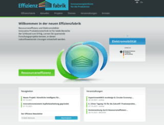 effizienzfabrik.de screenshot