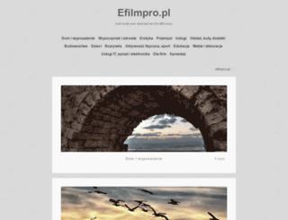 efilmpro.pl screenshot