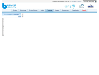 efinance.business.com.my screenshot