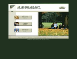 efinancialaid.com screenshot