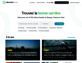 efinancialcareers.fr screenshot