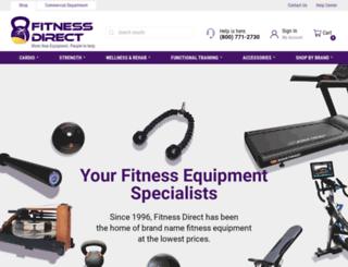 efitnessdirect.com screenshot