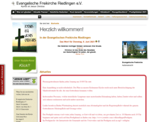 efk-riedlingen.de screenshot