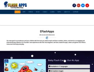 eflashapps.com screenshot