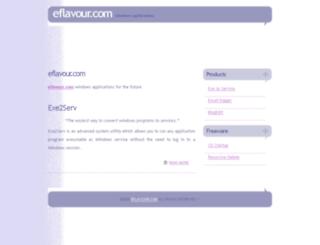 eflavour.com screenshot